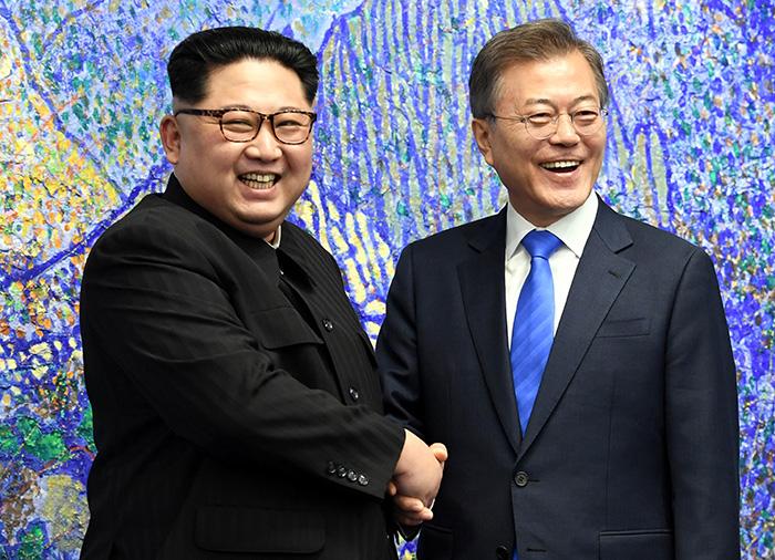 180427 panmunjom pool L2 - Итоги межкорейского саммита 2018